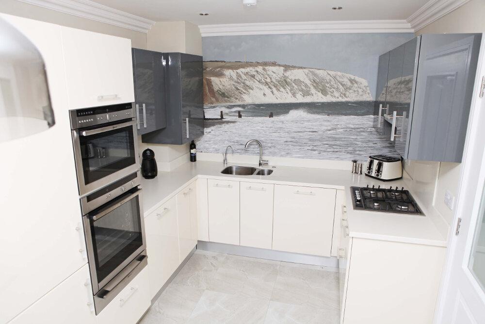 Interior Design of Irish holiday home in Crosshaven, Co. Cork, Ireland