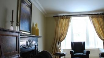 Cork Curtain Fabrics by Hannah Lordan Interir Designer